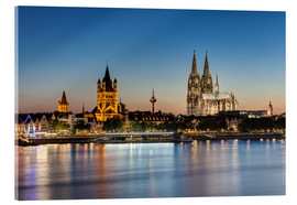 Acrylic print  Magnificent Cologne - Michael Valjak