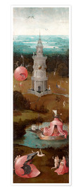 Premium poster The Last Judgement, the earthly paradise