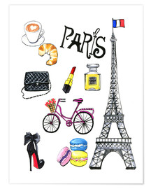 Premium poster Journey to Paris