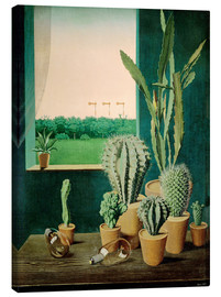 Canvas print  Cacti and semaphores - Georg Scholz