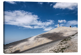 Canvas  Mont Ventoux in Provence (France) - Christian Müringer