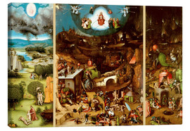 Canvas print  The Last Judgement - Hieronymus Bosch