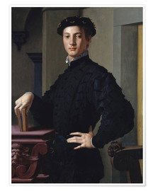Premium poster portrait of a young man