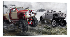 Canvas  Monster Truck Race - Kalle60