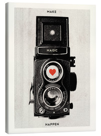 Canvas  Vintage retro camera - Nory Glory Prints