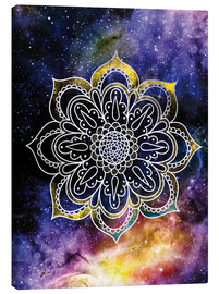 Canvas print  Space mandala - Nory Glory Prints