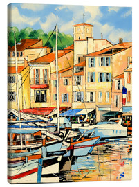 Canvas print  Harbor view - JIEL