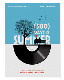 Poster 500 days of summer