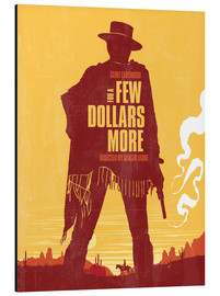 Golden Planet Prints - For a few dollars more western movie inspired art print