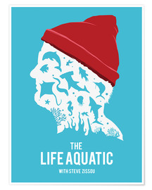 Premium poster The life aquatic
