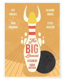 Premium poster The Big Lebowski