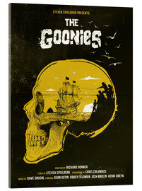 Acrylic print  The Goonies - Golden Planet Prints