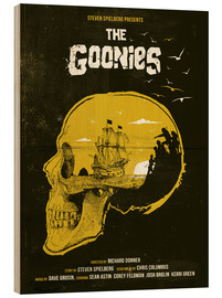 Wood  The Goonies - Golden Planet Prints