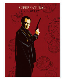 Premium poster Crowley, Supernatural
