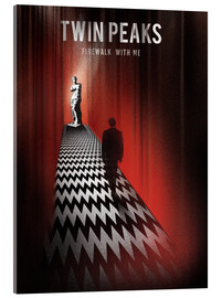 Acrylic print  Twin Peaks, firewalk with me - Golden Planet Prints