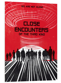 Foam board print  Close encounters of the third kind - Golden Planet Prints
