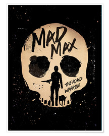 Poster Mad Max the road warrior movie inspired art print