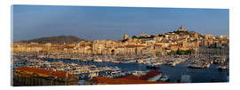 Acrylic print  marseille panoramic - Vincent Xeridat