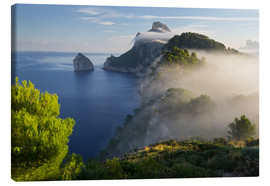 Canvas  Mist over Mallorca - Rainer Mirau