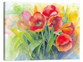 Canvas print  tulips bouquet - Eckard Funck