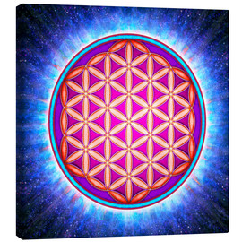 Canvas print  Flower Of Life - Primal Energy - Dirk Czarnota