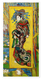 Vincent van Gogh - Japonaiserie: Courtesan or Oiran