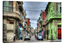 Canvas print  In the streets of Havana - HADYPHOTO by Hady Khandani