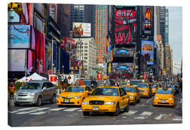 Canvas print  New York City Traffic - Thomas Klinder