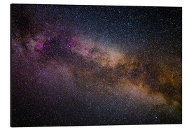 Aluminium print  Milky Way - The starry sky - Benjamin Butschell
