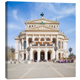 Canvas print  Alte Oper in Frankfurt, Germany - Jan Christopher Becke