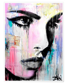 Premium poster  The storm - Loui Jover
