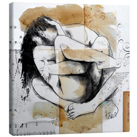 Canvas  embrace - Loui Jover