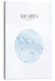 Canvas print  AQUARIUS | WASSERMANN - Stephanie Wünsche