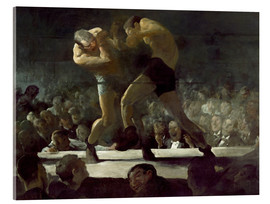 Acrylic glass  Club Night - George Wesley Bellows