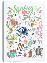 Canvas  Spring Favourites - Lily & Val
