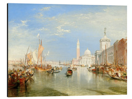 Aluminium print  Venice, The Dogana and San Giorgio Maggiore - Joseph Mallord William Turner