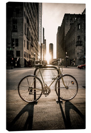 Canvas print  The Bike, Chicago - Sören Bartosch