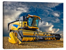 Canvas print  Combine-Harvester - Peter Roder