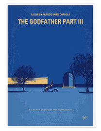 Poster My Godfather III minimal movie poster