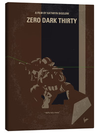 Canvas  My Zero Dark Thirty minimal movie poster - chungkong