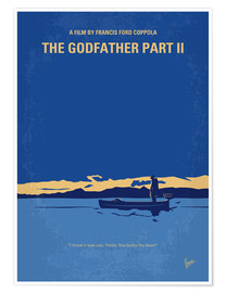 Poster My Godfather II minimal movie poster