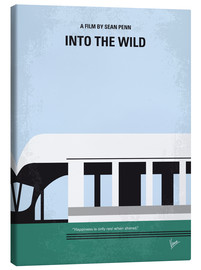 Canvas  No677 My Into the Wild minimal movie poster - chungkong