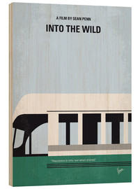 Wood  No677 My Into the Wild minimal movie poster - chungkong