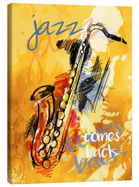 Canvas print  Jazz comes back - colosseum