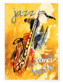 Premium poster  Jazz comes back - colosseum