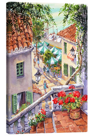 Canvas print  Harbour Steps - Paul Simmons