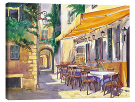 Canvas print  Provence Cafe - Paul Simmons