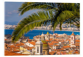Acrylic print  Old town of Nice - Dieterich Fotografie