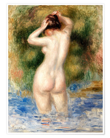 Premium poster  Bather - Pierre-Auguste Renoir