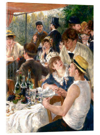 Acrylic glass  Luncheon of the Boating (Detail) - Pierre-Auguste Renoir